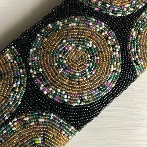 Handbags - Glass Beaded Wristlet